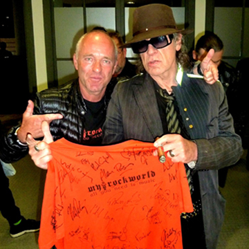 myRockworld meets Udo Lindenberg