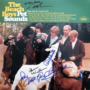 myRockworld memorabilia: The Beach Boys - Album Pet Sounds, 1966, ultra rare