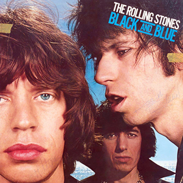 myRockworld memorabilia: The Rolling Stones: Album Black and Blue - 1976 - original Vinyl - signed by Mick Jagger, Keith Richards, Charlie Wattes, Billy Wyman and Ronnie Wood